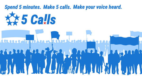 5 Calls: Make your voice heard